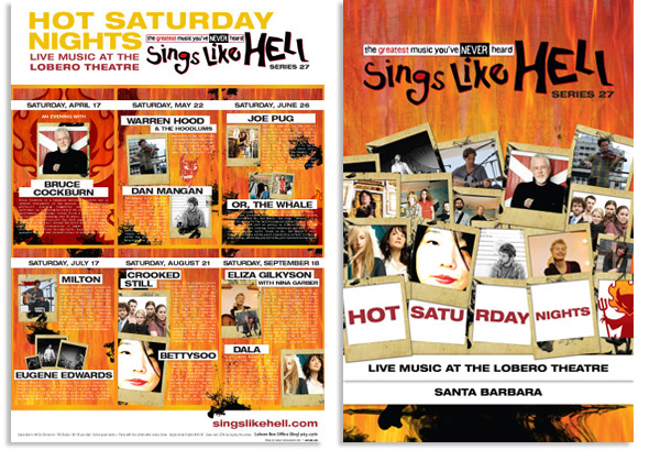 Sings Like Hell posters